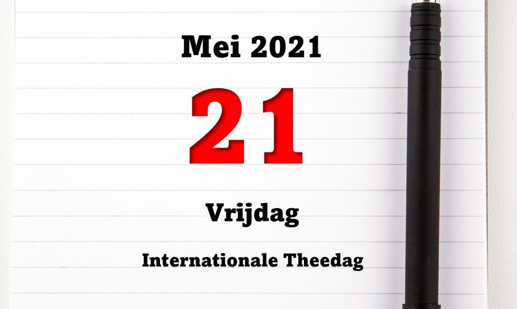 21 Mei is de internationale dag van de thee